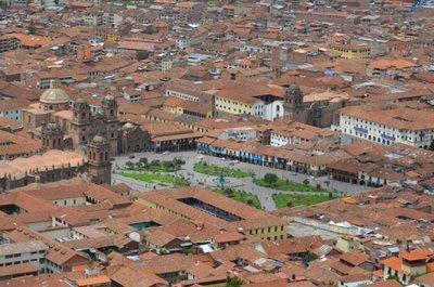 Cusco du haut de la ville