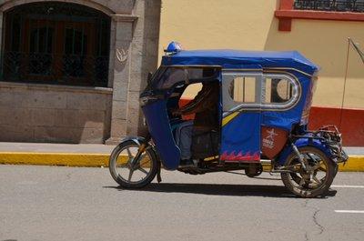 Puno - moto-taxi