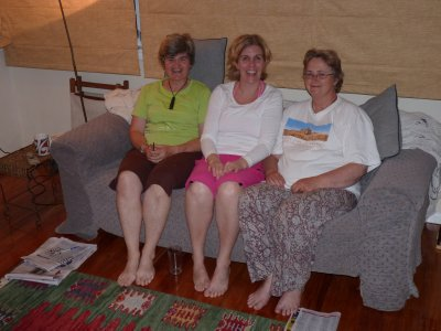 Linda, Maria and Annette