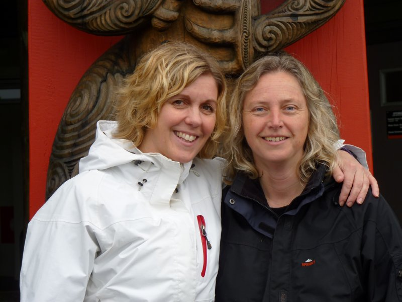 Maria and Eva at Waitakere