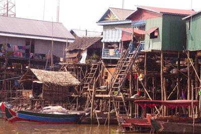 Kampong Phluk village.