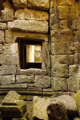 Preah Khan- a window.
