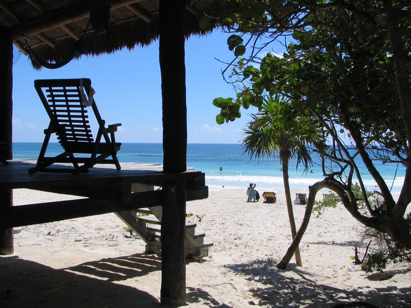 Small hotel on the beach - Tulum