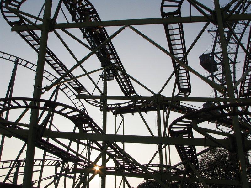 The Prater Rollercoaster - Vienna - Austria