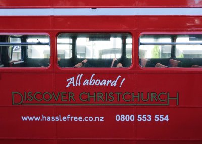 Christchurch Routemaster Tour