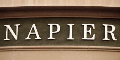 Napier Sign