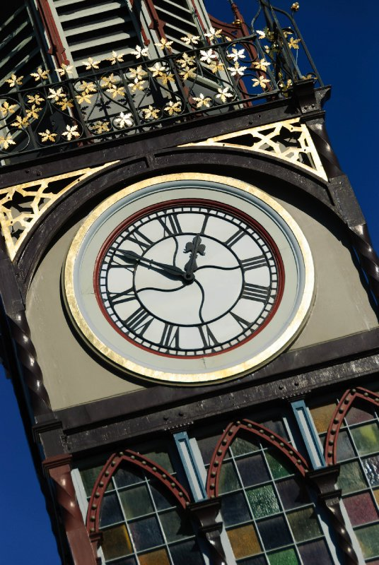 Clock stopped at earthquake hour