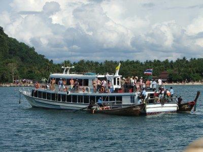 Ferry from Lanta to Ao Nang