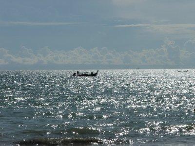 Taken from the beach at Ao Nang