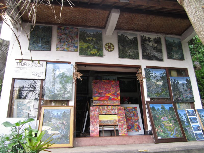 Art and more art in Ubud