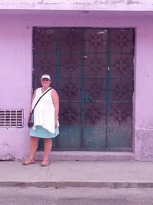 Andrea and art deco type door