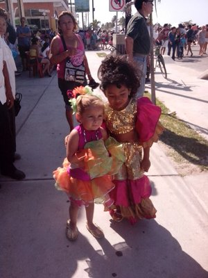 Little carnival girls