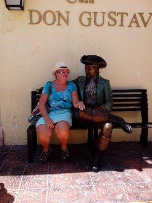 Andrea y su amigo
