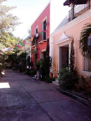 Valladolid street scape