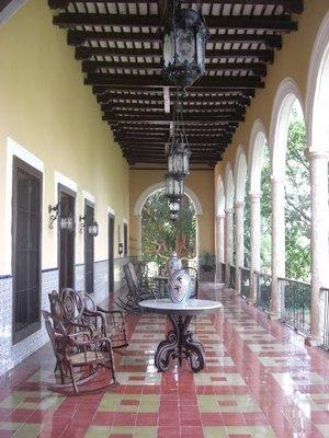 hacienda veranda
