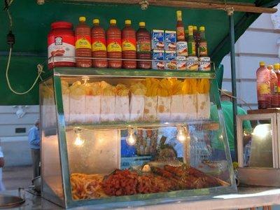 Fried plantain and potato snacks
