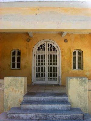 House  on the malecon in Progreso