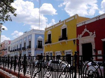 Campeche street scape