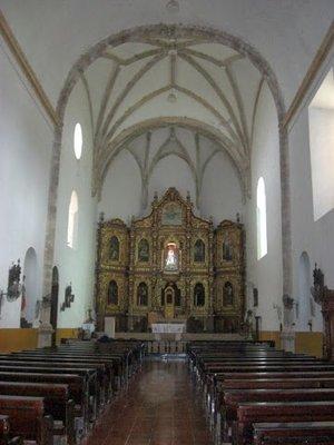 Izamal church interior