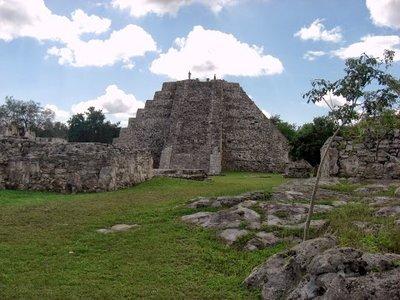 Main pyramid at Mayapan