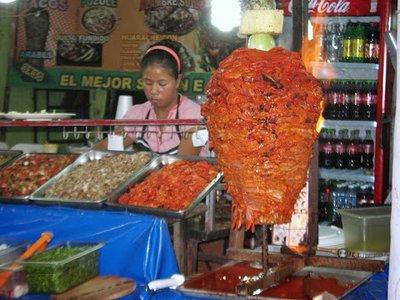 Meat for tacos al pastor