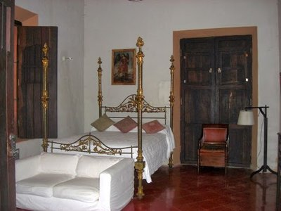 bedroom in the hacienda