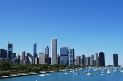 Chicago by Lake Michigan