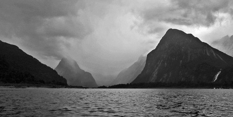 Gloomy Milford Sound