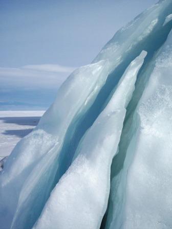 Frozen Baikal, Russia