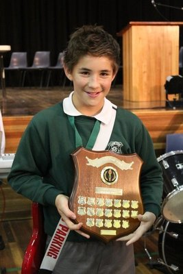 Will at prizegiving