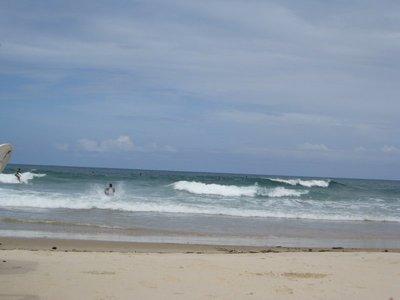 Surfers in Itacare