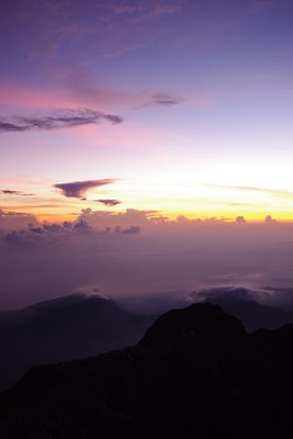 Beautiful views across Lombok's volcanic planes