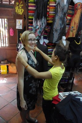 Getting measured up...