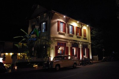 Colonial architecture - boutique hotel