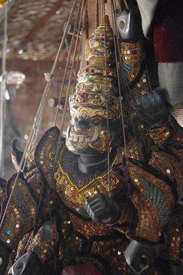 Mandalay marionettes