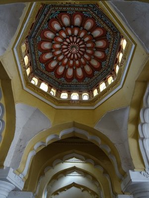 One of the dome ceilings