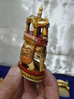 Camel bone chess piece