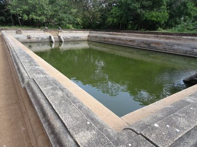 One of the water ponds