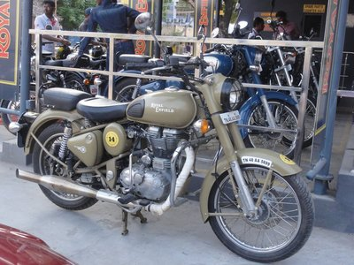 Royal Enfield new colour