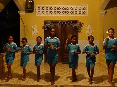 Children's Khmer dance