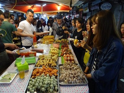 Street food at the night market