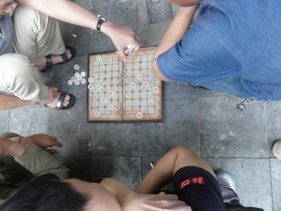 Game being played on the street