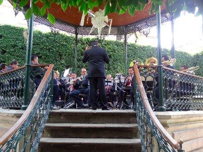 Jardin de Union concert