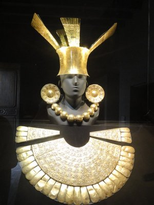 Gold Funerary Outfit