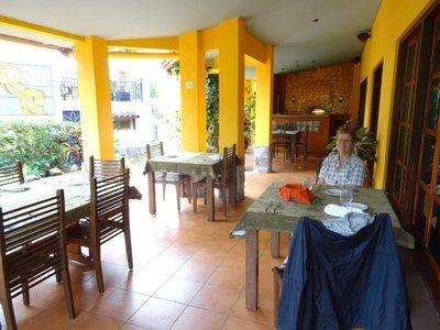 Mango Restaurant patio