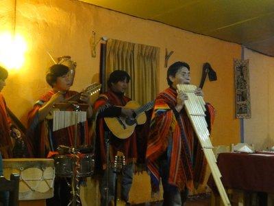 Musicians in Restaurant