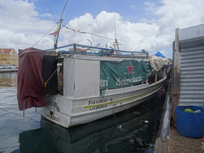 One of the floating market boats