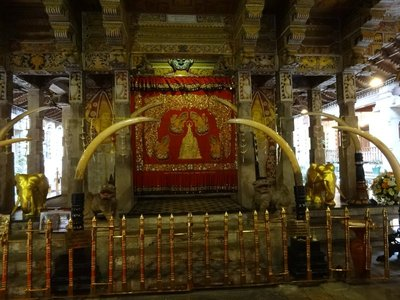 Inside the Temple of the Tooth