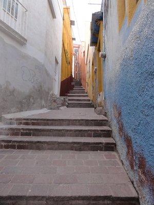 Route to El Pipila