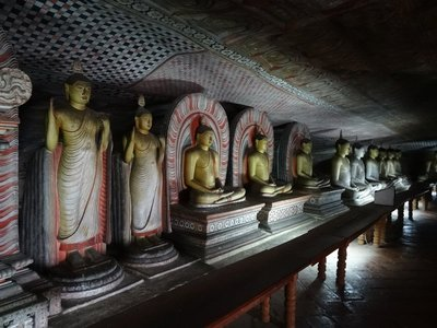 Many Buddhas at the Cave Temple
